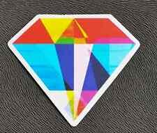Funny Colorful Diamond Sticker Decal Window Car Vinyl Laptop Skateboard Guitar