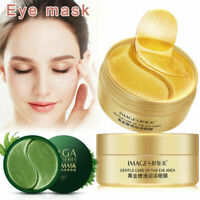 60PCS Hydrogel Eye Mask Collagen Patches For Anti Puffy Dry Eyes Dark Circles-RO