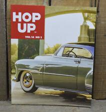 HOP UP MAGAZINE V14 2 HOT ROD BOOK EARLY CUSTOMS FORD FLATHEAD VTG PHOTOS SCTA