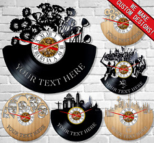 Vinyl wall clocks Vinyl record New Best quality Unique design customizable