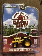 Greenlight DOWN on the FARM Series 2. 1986 Ford 5610 tractor Ohio DOT