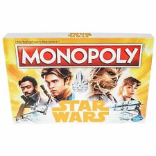 Solo: A Star Wars Story Hasbro Han Solo Monopoly Board Game