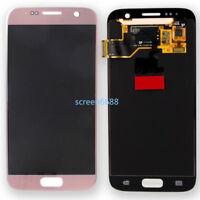 Lcd Display Touch Screen Schermo Vetro Per Samsung Galaxy S7 SM-G930F Rose Gold