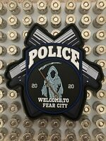 NYPD style Police Morale Patch Fear City