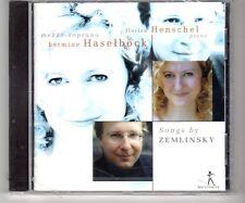 (HJ850) Works by Zemlinsky, Hermine Haselbock/Florian Henschel - 2003 Sealed CD