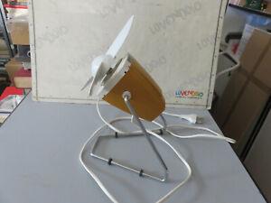 Ventilador De Mesa Vintage Modernismo Años 70 Producto De Aepi Funciona
