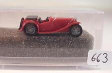 Praliné 1/87 Nr. 5900 MG Midget TC Cabrio offen rot OVP #663