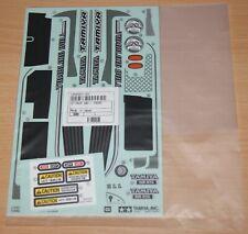 Tamiya 58586 Tumbling Bull/WR02G, 9495807/19495807 Decals/Stickers, NIP