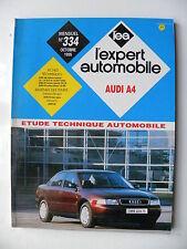 revue technique automobile RTA  AUDI  A4  essence  et  diesel n° 334