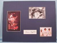 "Warren Beatty in ""Reds"" signed by Maureen Stapleton aka Emma Goldman"