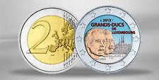 2 Euro Gedenkmünze 2012 Luxemburg Guillaume FARBE