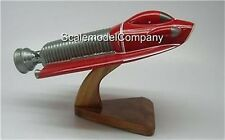 SHADO UFO Spacecraft Mahogany Kiln Dried Wood Model Small New
