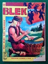 Gli albi del grande BLEK n 59 , Ed Dardo (1964) fumetto a colori