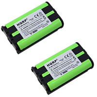 2x HQRP Battery for Panasonic KX-TG5240 KX-TG5240ALM KX-TG5240M KX-TG5212 Phone