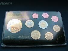 IRLAND EURO PROBENSATZ 2012 TITANIC PP / 999er RHODIUM / PROOF Auflage 2000 !!