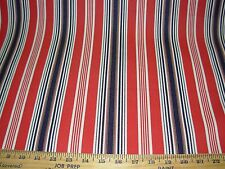 ~10 YDS~STRIPES ~STURDY COTTON UPHOLSTERY FABRIC FOR LESS~