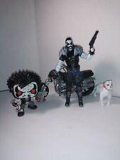 Dc Lobo lot 6 inch custom action figure plus dog and pop.