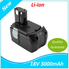 18v Batterie pour Hitachi 326240 326241 327730 327731 BCL 1815 ebm 1830 3000mah