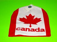 CANADA MAPLE LEAF OLYMPIC HOCKEY SUPPORT YOUR TEAM BEANIE TOQUE FREE SHIPPING