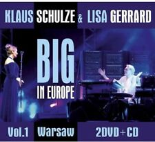 Klaus Schulze, Klaus Schulze & Lisa Gerrard - Big in Europe 1 [New CD] With DVD
