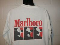 Vintage 90s Cowboy Marlboro Man Long Sleeve Distressed Pocket T-Shirt L/XL