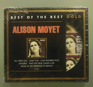 Alison Moyet Best of the Best audiophile limited gold edition CD virtually new!