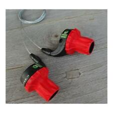 Sachs Power Grip Wavey, 3/7-fach, rot, inkl. Züge, NEU, NOS, Retro