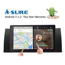 """9"""" HD Android 7.1 GPS WIFI Autoradio DAB+ BT für BMW X5 M5 E39 E53 E38 5er 7er"""