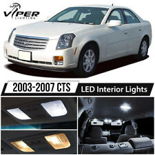2003-2007 Cadillac CTS White LED Interior Lights Kit Package