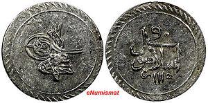 Turkey (1703-1730) Silver AH1115 (1703)  Para aUnc SCARCE KM# 141