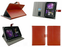 """Universal Funda Soporte Folio para 24.6cm 10.1""""Tableta con Negro Lápiz óptico"""