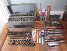 CRAFTSMAN 300pc Ratchet Socket Wrench Pliers Hammer Tool Box Set Vtg & NEW LOT