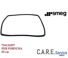 SMEG GUARNIZIONE PORTA FORNO ORIGINALE - 754132057 -5 GANCI PER MODELLI CO SC SF