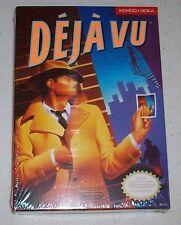 Deja Vu Nintendo Entertainment System 1990 NES Brand New Factory Sealed complete