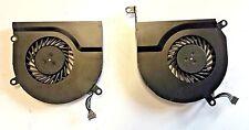 APPLE MACBOOK PRO 15 A1286 KSB0505HB CPU Ventilador De Refrigeración 2008 2009 Par Izquierdo Derecho