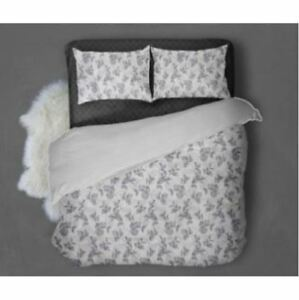 Home deals Bedsheet Ornamental With Pillow Case(Violet) Double