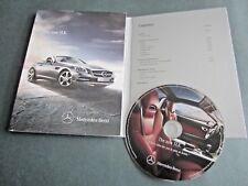 MERCEDES SLK - Class- 2011 ORIGINAL UK DVD BROCHURE - Petrol. AMG