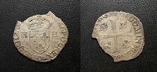 Henri III - douzain aux 2H 3ème type - Riom ! Dy#1142