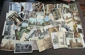 POSTCARDS - FINE VINTAGE MINT/USED COLLECTION OF CASTLES - 1900s/1920 - 180+
