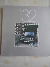 Fiat 132 Bellini brochure Oct 1979