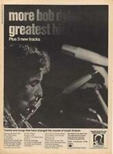 Bob Dylan More Greatest Hits LP advert Time Out cutting 1971