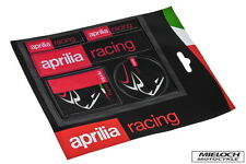 KIT 5 ADESIVI APRILIA RACING AP8720110 stickers moto ducati decal INTROVABILI
