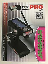 +++ Jamara CAR Fernsteuerung CCX 2,4 Pro 2,4Ghz Set 3-Kanal 061200