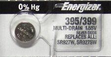 395 Energizer watch battery SR927W 395/399 SR927SW 1 PC