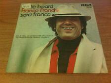"""7"""" 45 GIRI FRANCO FRANCHI SKATE BOARD RCA PB 6181 VG+/EX  ITALY PS 1978 DST"""