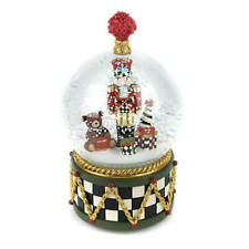 MacKenzie-Childs Nutcracker Snow Globe