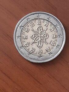 2 euro Portugal 2002 décentré