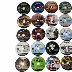 Lot of 150 PS2 Playstation 2 *Disc Only* Bulk Wholesale Video Games Reseller