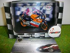 MOTO HONDA NSR 500 REPSOL T. OKADA 2000 au 1/24 TWO WHEELS TWR056 Vitesse