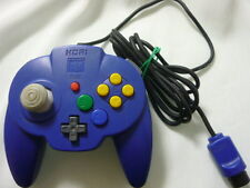 Nintendo 64 Hori Pad Mini 64 controller Blue Japan N64